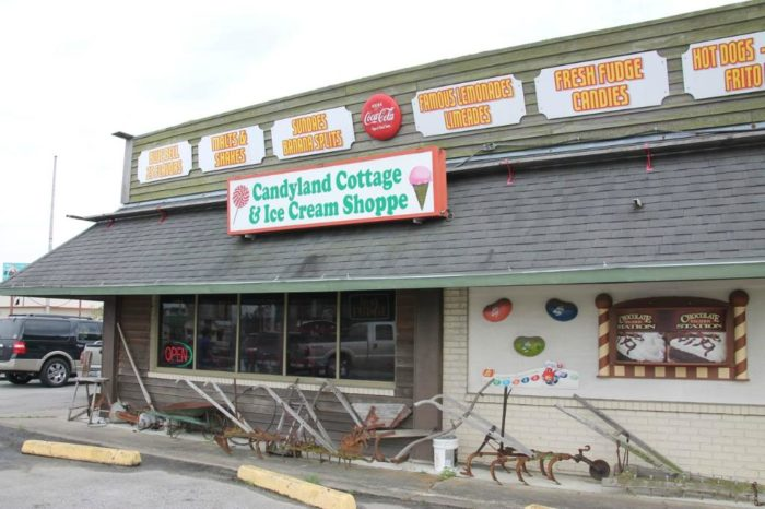 So whether you make a stop at the Scott or Rayne store, Candyland Cottage will bring so much joy to you and your family.