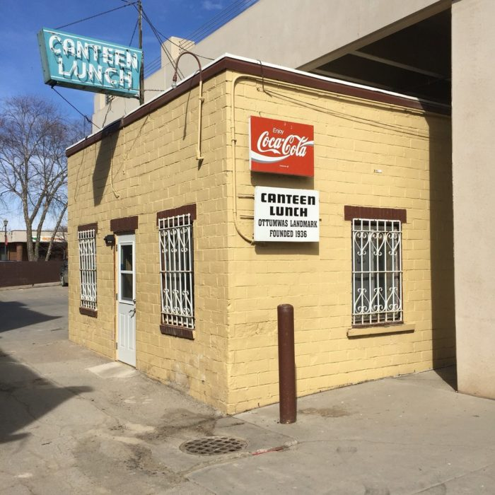 5. The Canteen Lunch in the Alley, Ottumwa