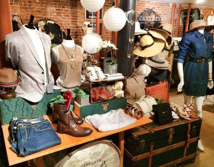 8. Find incredible deals on designer apparel at Cary Lane.