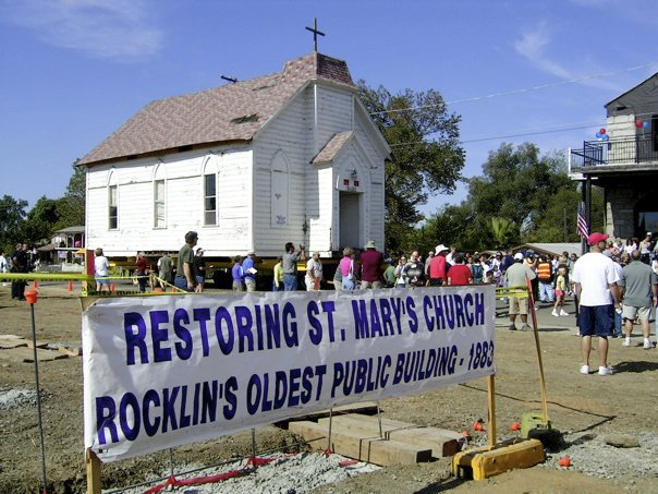 In 2004 it was set for demolition but the good people of the city of Rocklin historical society got together and saved it. The moved it to Front street and got busy refurbishing it and making it pretty again.