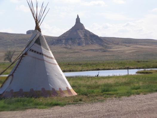 5. Chimney Rock Pioneer Crossing, Bayard, Morrill County