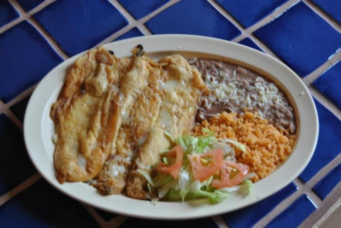The chile rellenos here is the stuff of legends.