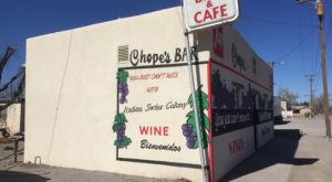 In 1948, a bar was added to the Chope's complex - it's the building with the colorful murals. The full menu is available in both the restaurant and bar.