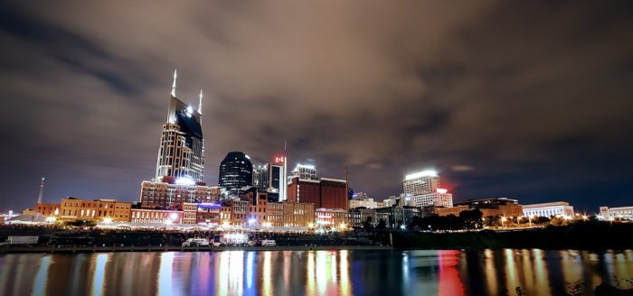 3. Stunning colors of downtown.