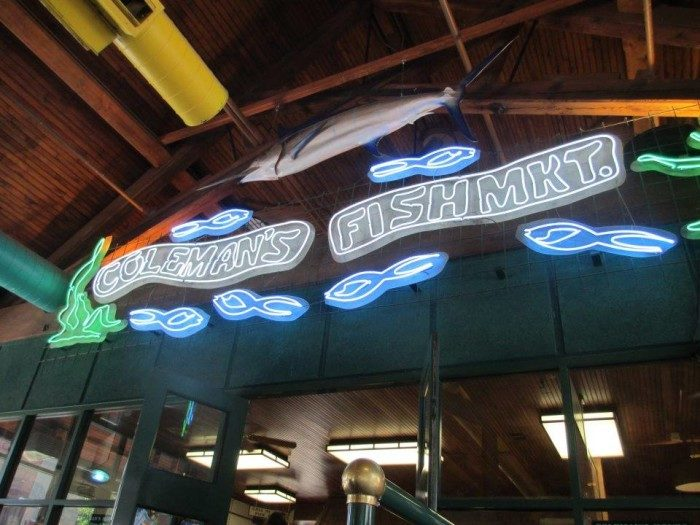 5. Coleman's Fish Market, Wheeling