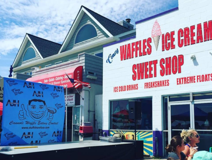 Coney Waffle has you covered.
