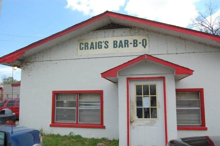 10. Craig's Bar-B-Que (De Valls Bluff)
