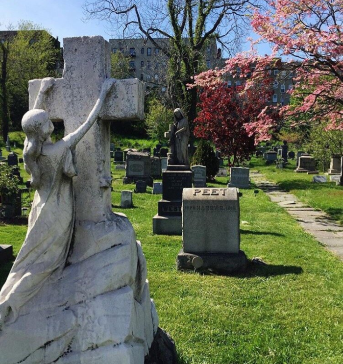 Welcome To Jersey City and Harsimus Cemetery