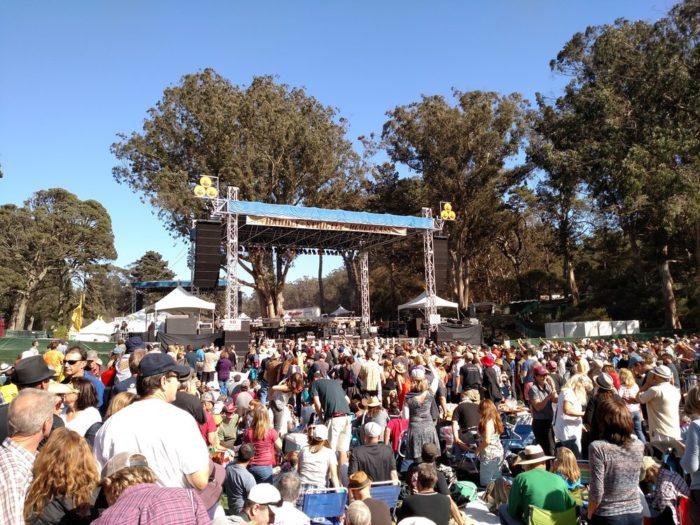 3. Hardly Strictly Bluegrass (San Francisco)