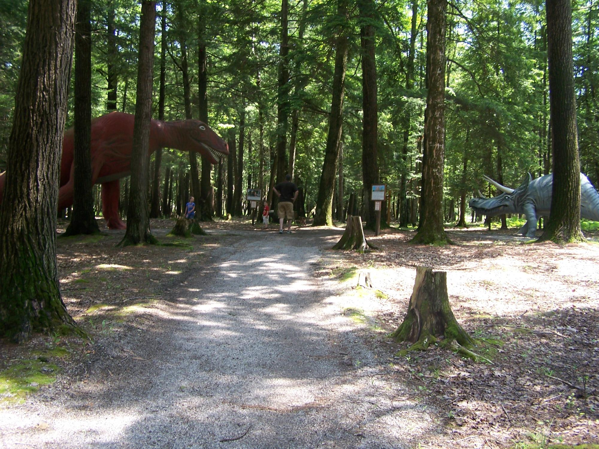 This Dinosaur Park In Michigan Is A Fun And Unique Experience