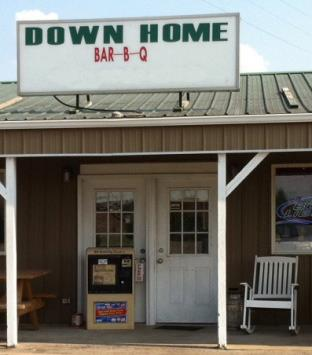 8. Down Home Bar-B-Q, Bardstown