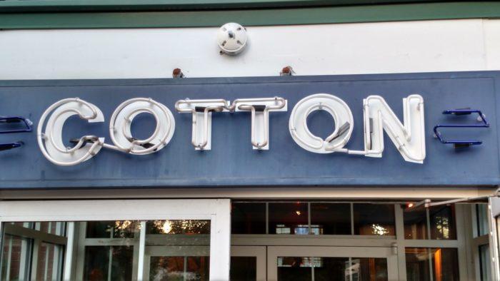 5. Cotton Restaurant, Manchester