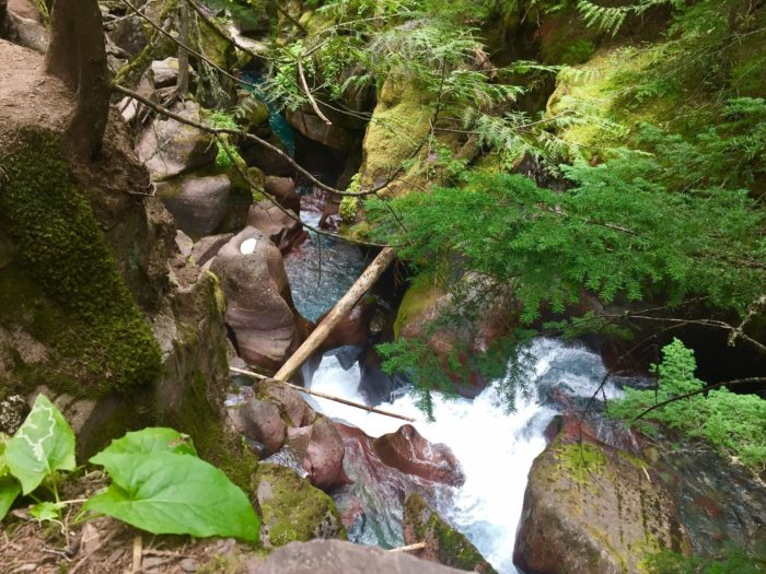 The hike is between 4 and 5 miles round trip, and every step is stunning. It's accessible from May until the end of October.