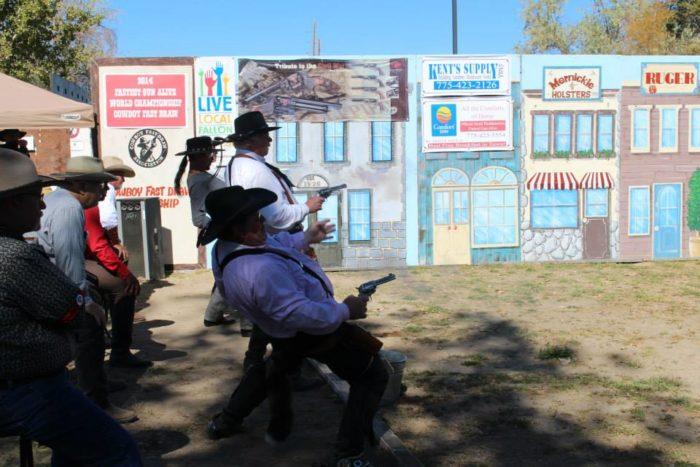 1. World Cowboy Fast Draw Championship: Churchill County Fairgrounds, Fallon