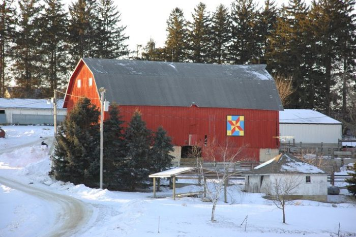 Each route is between 20 and 40 miles, taking you to see different barns.