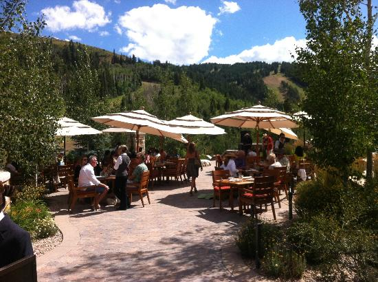 Dine on the patio for the perfect Sunday brunch.