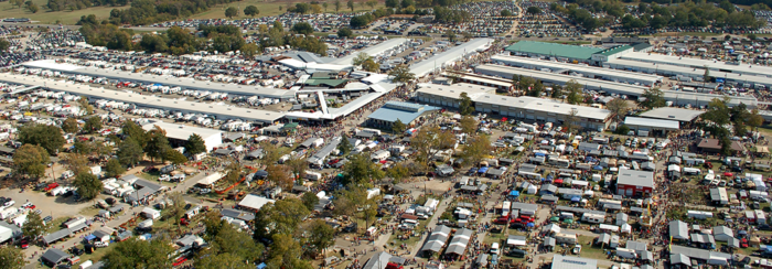 Oh, did I mention it's the largest flea market in the entire nation?