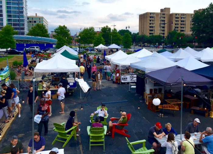 The Flea Market at Eastern Market is a two block street festival on 7th Street SE between C Street and Pennsylvania Avenue on Capitol Hill every Sunday.