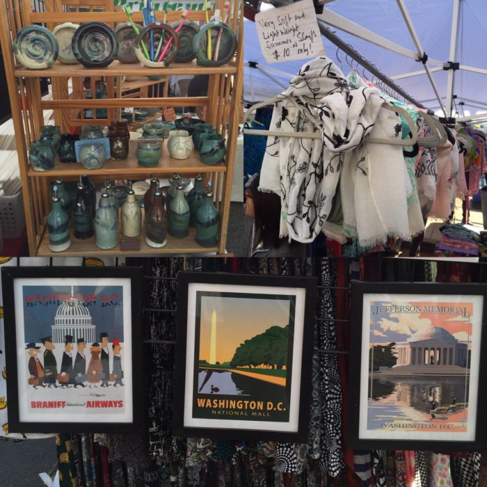 The Flea Market at has 70 exhibitors and you can find everything you could ever want or need at the Flea Market.