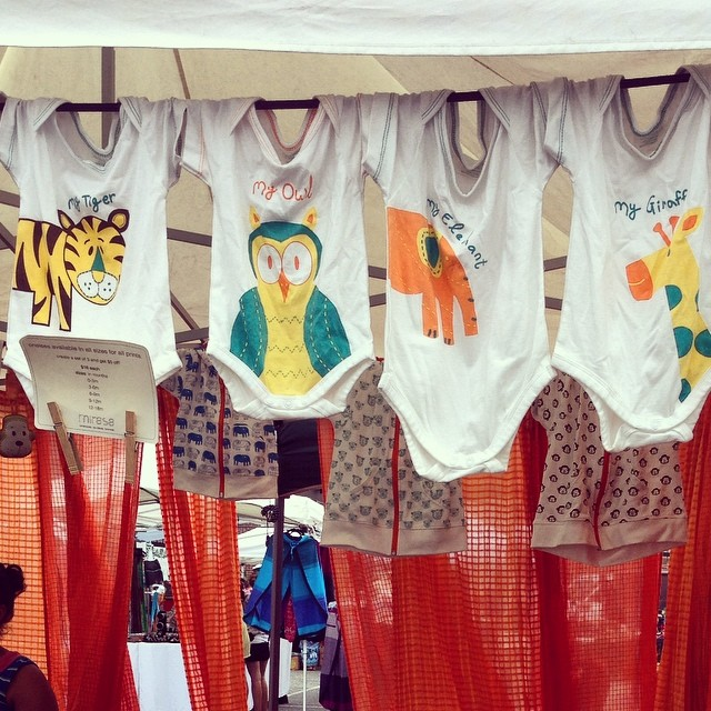 Many of the items available at the Flea Market are handmade and unique items from local artists and small businesses