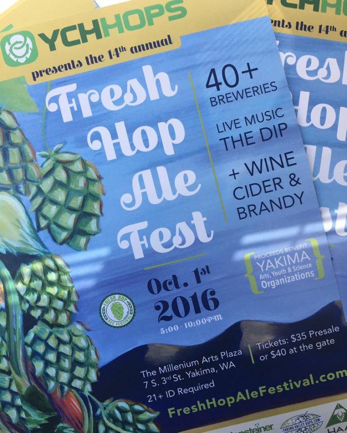 4. Fresh Hop Ale Festival, Yakima, 10/1