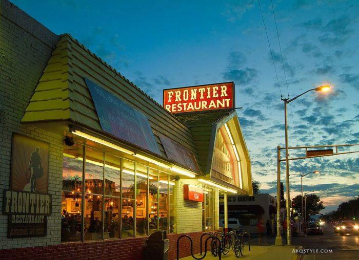 10. Frontier Restaurant, 2400 Central Avenue SE, Albuquerque