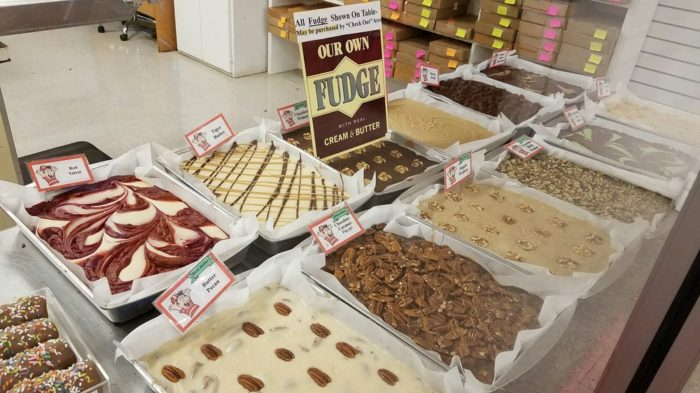 Sample some of their homemade fudge. With such a wide variety of flavors, you may need to try a few before you can decide.
