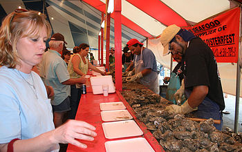 If you visit in March, you'll get to experience the famous Oysterfest: a celebration with carnival rides, merchants, an oyster eating contest, live music, fireworks, and more.