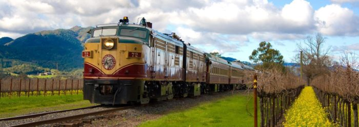Have you ever been on the Wine Train? If you live around these parts it's really easy to dismiss something you've become accustomed to, but when are you finally going to pull the trigger and hop on?