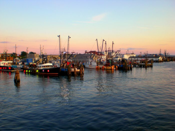 While it's definitely a hard-working fishing port, it's also absolutely beautiful - especially at sunset.