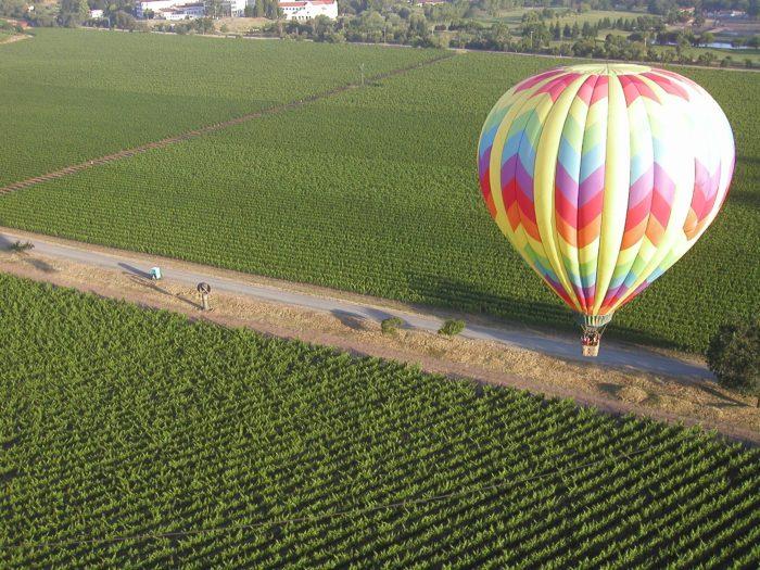 6. Take a Hot Air Balloon Ride over the Napa Valley.