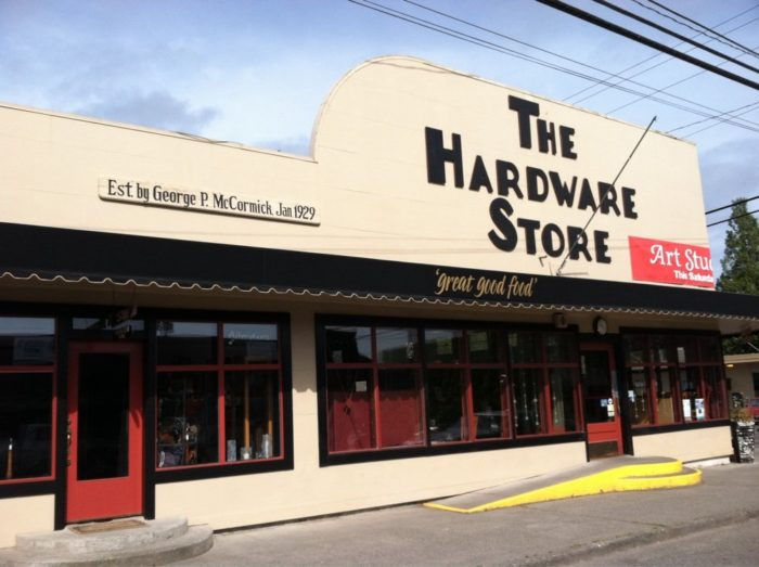 Enjoy lunch at the Hardware Store Restaurant, the oldest commercial building on the island (it has a spot on the National Registry of Historic Places). It's right in the middle of town.