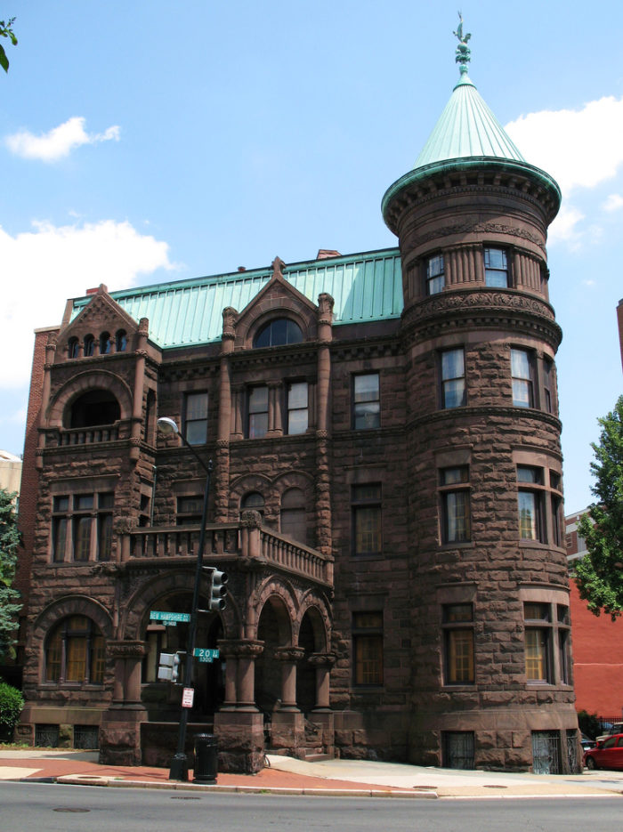 Heurich House was built near the end of the 19th century by Christian Heurich, who went on to open the Christian Heurich Brewing Company.