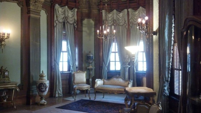 The three floors of the home are open for public tours and you can visit the ornate and beautiful decor, taking a peak at the past.
