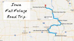 Take This Gorgeous Fall Foliage Road Trip To See Iowa Like Never Before