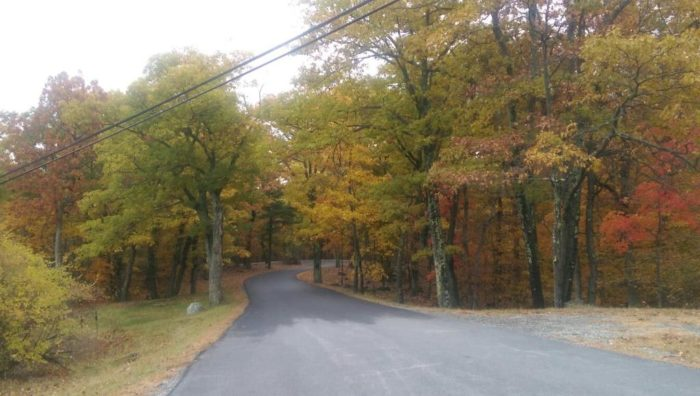 2. Mohawk State Forest in Cornwall offers scenic vistas to the north and the west!