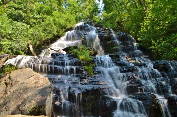 9. Isaqueena Falls - Walhalla