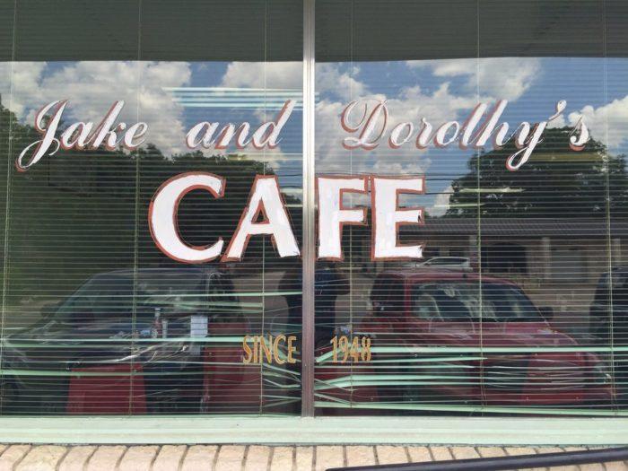 4. Jake & Dorothy's Cafe (Stephenville)