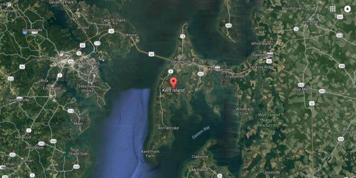 Kent Island is the biggest island in the Chesapeake Bay.