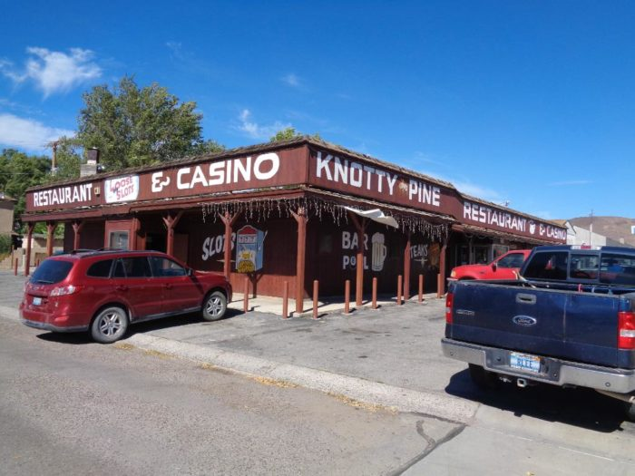 8. Knotty Pine Restaurant & Lounge – 690 Front St., Caliente