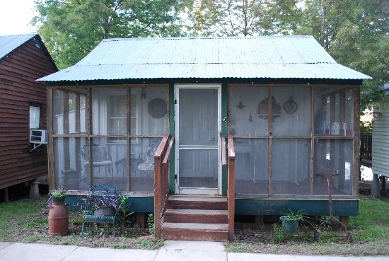 This honeymooner cabin with the wrap around porch is my absolute favorite.