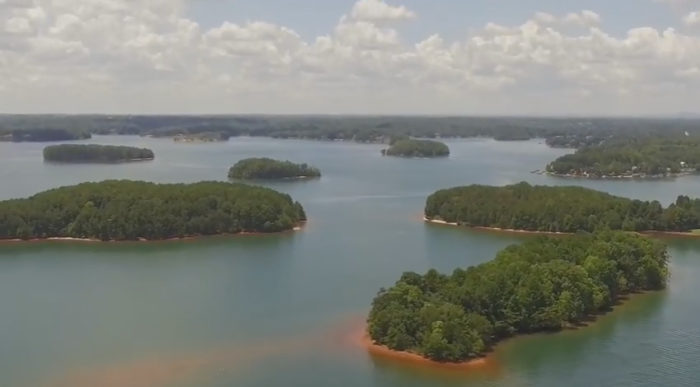 lake-keowee-aerial