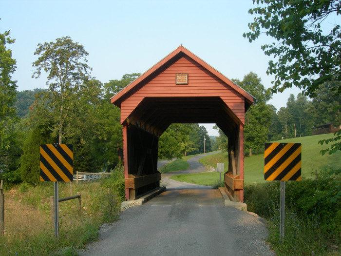 5. Laurel Creek Covered Bridge