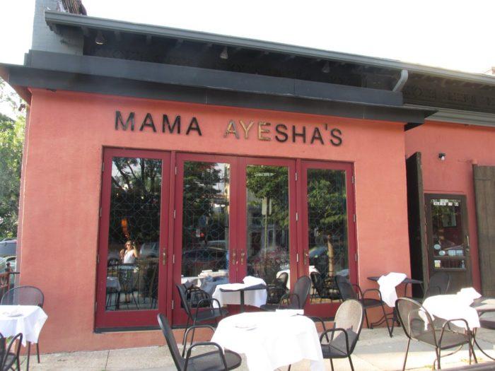 9. Mama Ayesha's