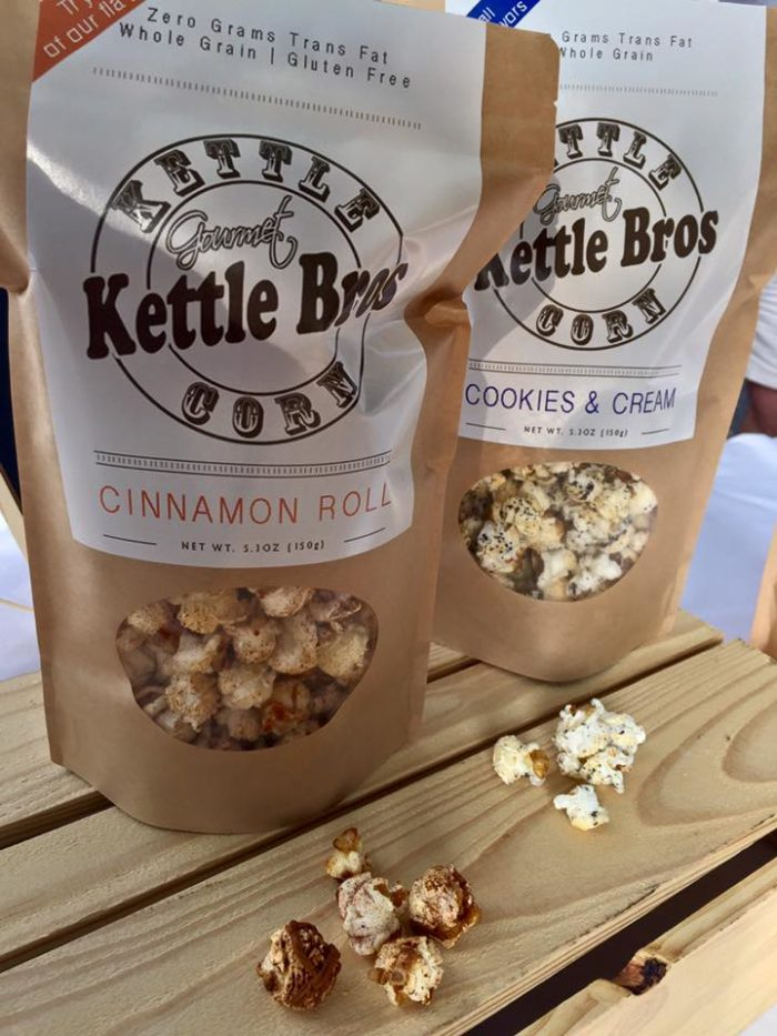 9. This amazing farmers market also sells the most delicious gourmet kettle corn. Don't leave without purchasing a bag (or two).