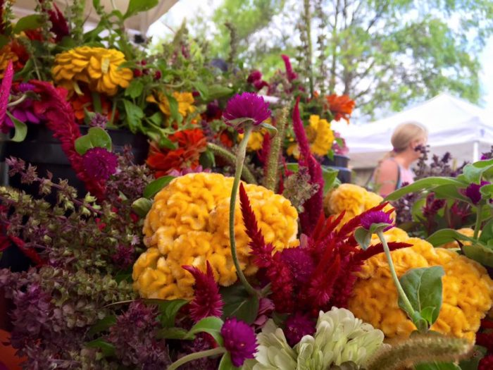 5. The Market at Pepper Place also offers a variety of fresh, beautiful flowers and...