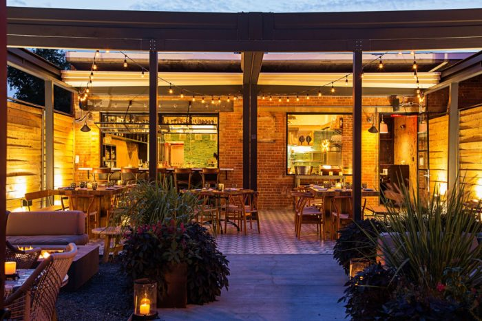 Masseria is located at 1340 4th St NE  between N Penn Street and N Neal Place. Reservations are recommended.