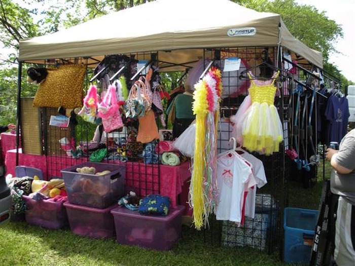 Of course, you'll find plenty of traditional flea market goodies.