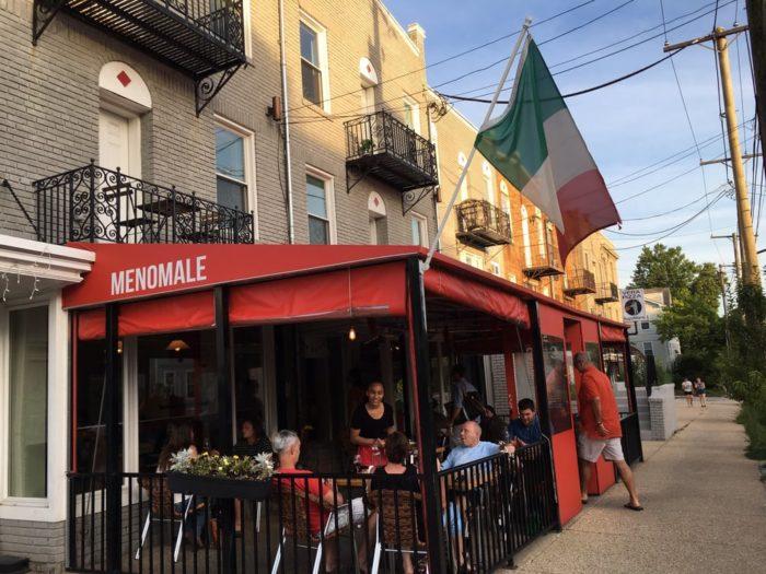 12.  Menomale Pizza Napoletana - 2711 12th St NE