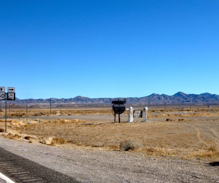 Your remote destination awaits about 47 miles east of Fallon on Highway 50, the Loneliest Road in America, near the State Route 361 junction.
